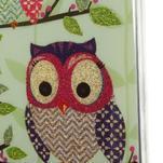 Owls gelový obal na Samsung Galaxy S5 mini - sovy na větvi - 3/4
