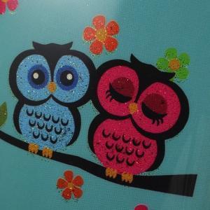 Owls gelový obal na Samsung Galaxy S5 mini - soví pár - 3