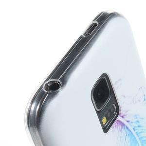 Ultratenký obal na mobil Samsung Galaxy S5 mini - peříčko - 3