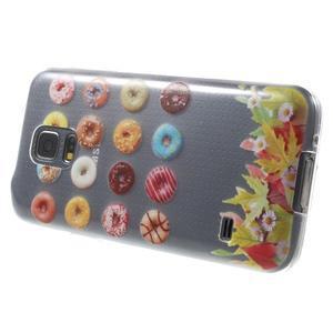 Gelový kryt na mobil Samsung Galaxy S5 mini - donut - 3