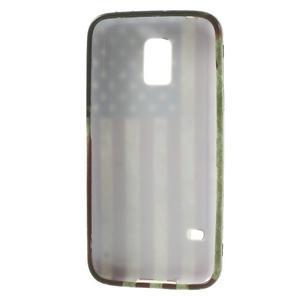 Softy gelový obal na Samsung Galaxy S5 mini - US vlajka - 3