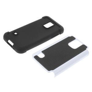 Odolný kryt 2v1 na mobil Samsung Galaxy S5 mini - bílý - 3