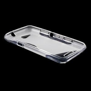 S-line gelový obal pro Sony Xperia E4g - transparentní - 3