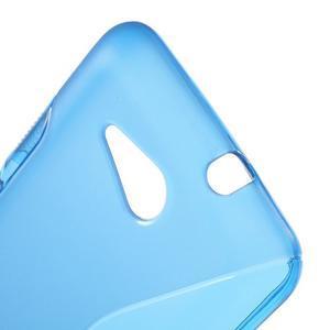 S-line gelový obal pro Sony Xperia E4g - modrý - 3