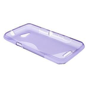 S-line gelový obal pro Sony Xperia E4g - fialový - 3