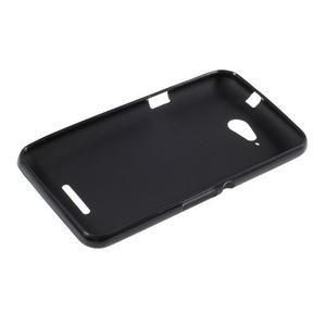 Obal z matného gelu pro Sony Xperia E4g - černý - 3