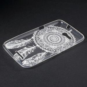 Gelový obal na Sony Xperia E4g - tribal - 3