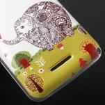 Gelový obal na Sony Xperia E4g - zamilovaný slon - 3/5