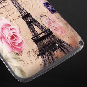 Gelový obal na Sony Xperia E4g - Eiffelova věž - 3
