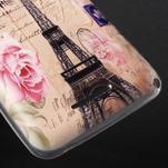 Gelový obal na Sony Xperia E4g - Eiffelova věž - 3/5