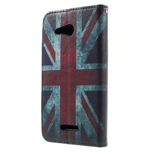 Peněženkové pouzdro na Sony Xperia E4g - UK vlajka - 3