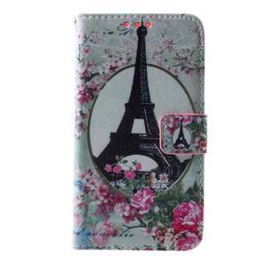Peněženkové pouzdro na Sony Xperia E4g - Eiffelova věž - 3
