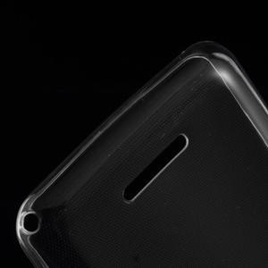 Ultra tenký gelový obal na Sony Xperia E4g - transparentní - 3