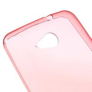 Ultra tenký gelový obal na Sony Xperia E4g - červený - 3
