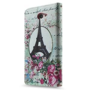 Standy peněženkové pouzdro Sony Xperia M2 Aqua - Eiffelova věž - 3