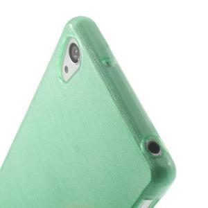 Broušený gelový obal na Sony Xperia Z2 - azurový - 3