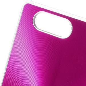 Metalický kryt na Sony Xperia Z3 Compact - rose - 3