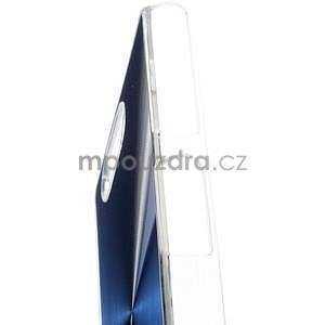 Metalický kryt na Sony Xperia Z3 Compact - modrý - 3
