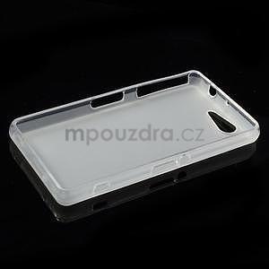 Transparentní matný gelový obal na Sony Xperia Z3 Compact - 3