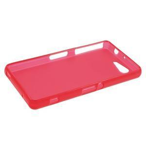 Červený matný gelový obal na Sony Xperia Z3 Compact - 3