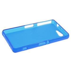 Modrý matný gelový obal na Sony Xperia Z3 Compact - 3