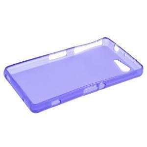 Fialový matný gelový obal na Sony Xperia Z3 Compact - 3
