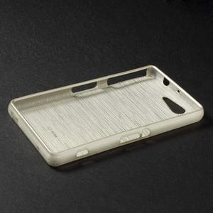 Broušený obal na Sony Xperia Z3 Compact D5803 - champagne - 3