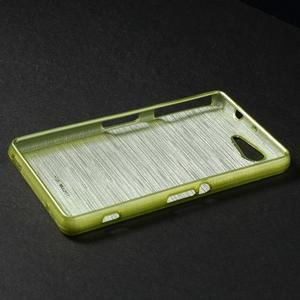 Broušený obal na Sony Xperia Z3 Compact D5803 - zelený - 3