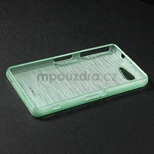Broušený obal na Sony Xperia Z3 Compact D5803 - azurový - 3