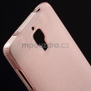 Broušený kryt na Xiaomi 4 MI4 - růžový - 3
