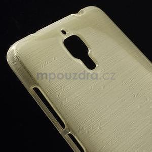 Broušený kryt na Xiaomi 4 MI4 - zlatý - 3