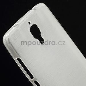 Broušený kryt na Xiaomi 4 MI4 - bílý - 3