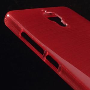 Broušený kryt na Xiaomi 4 MI4 - červený - 3