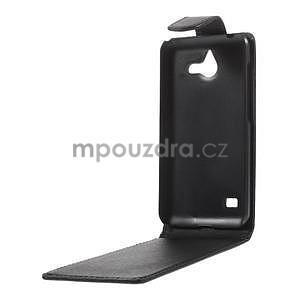 PU kožené flipové pouzdro na Huawei Ascend Y550 - 3