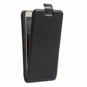 Flipové PU kožené pouzdro na Huawei Y5 II - černé - 3