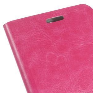 Horse PU kožené pouzdro na mobil Huawei Y5 II - rose - 3