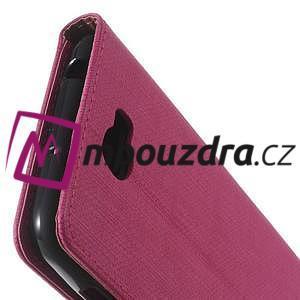 Clothy peněženkové pouzdro na Huawei Y5 II - rose - 3