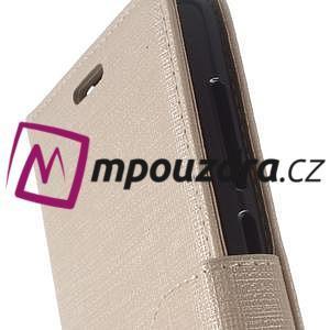 Clothy peněženkové pouzdro na Huawei Y5 II - zlaté - 3