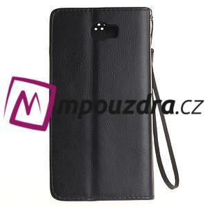 Dandelion PU kožené pouzdro na Huawei Y5 II - černé - 3