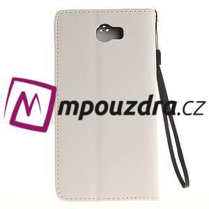 Dandelion PU kožené pouzdro na Huawei Y5 II - bílé - 3