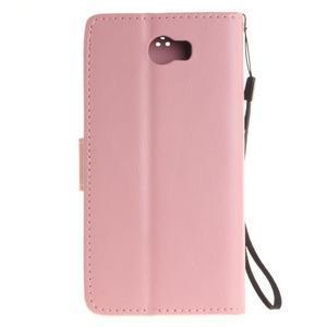 Dandelion PU kožené pouzdro na Huawei Y5 II - růžové - 3