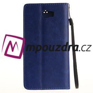 Dandelion PU kožené pouzdro na Huawei Y5 II - modré - 3