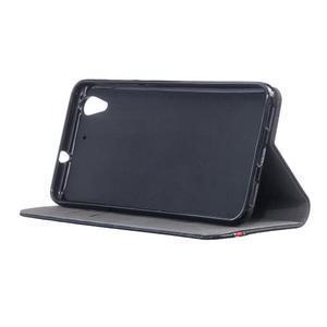 Klopové pouzdro na mobil Huawei Y6 II a Honor 5A - černé - 3