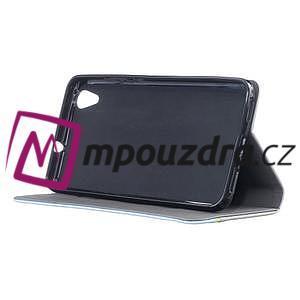 Klopové pouzdro na mobil Huawei Y6 II a Honor 5A - šedé - 3