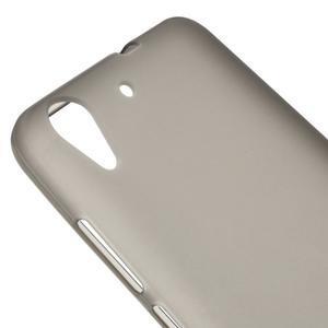 Matný gelový obal na Huawei Y6 II a Honor 5A - šedý - 3