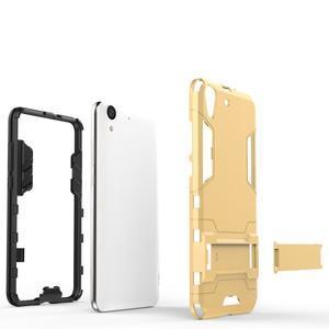Outdoor odolný obal na mobil Huawei Y6 II a Honor 5A - šedý - 3