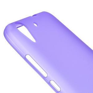 Matný gelový obal na Huwei Y6 II a Honor 5A - fialový - 3