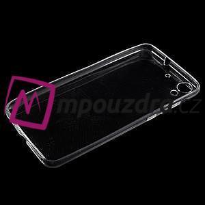 Ultratenký gelový obal na mobil Huawei Y6 II a Honor 5A - transparentní - 3