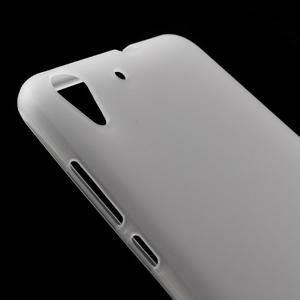Matný gelový obal na Huawei Y6 II a Honor 5A - bílý - 3