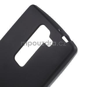 Matný gelový kryt na LG G4c H525n - černý - 3